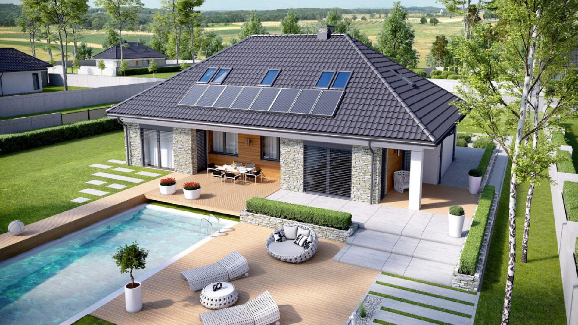 Projekt domu Magnus II G2. Fot. Pracownia Projektowa Archipelag