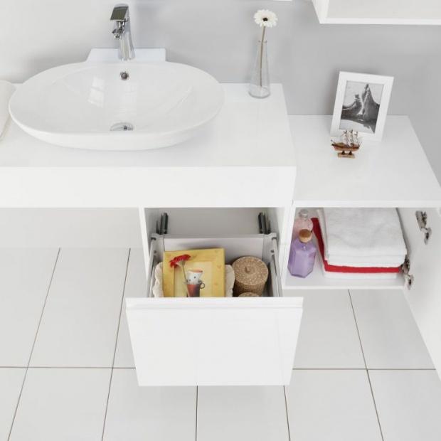 Meble łazienkowe. Komfortowa organizacja przestrzeni