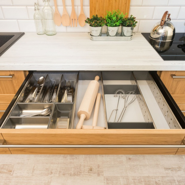 Przechowywanie w kuchni - poznaj sprytne rozwiązania