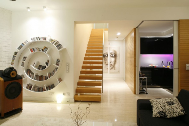 20 pomysłów na piękne schody w domu