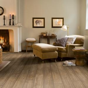Styl klasyczny podłoga laminowana Impressive. Fot. Quick-Step