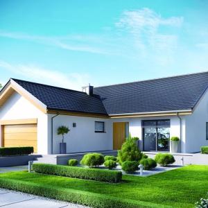 Możliwość zaadaptowania poddasza o powierzchni 50 metrów kwadratowych daje możliwość powiększenia domu wraz z pojawieniem się dzieci. Fot. Pracownia Projektowa Archipelag