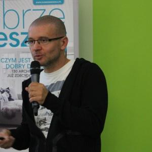 Studio Dobrych Rozwiązań 2016 Szczecin.O swojej pracy nad projektami opowiada Robert Konieczny