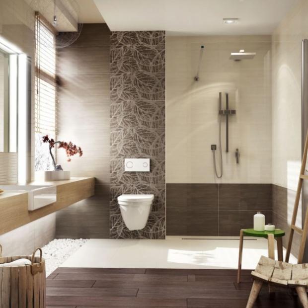 Zobacz, jak urządzić łazienkę w kolorach jesieni
