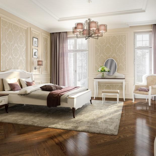 Biała sypialnia - klasyczna czy nowoczesna?