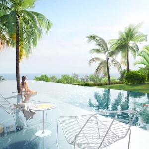Projekt Infinity Pool, realizowany na Karaibach dla prywatnego inwestora. Fot. Medusa Group.