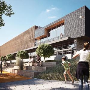 Projekt przebudowy budynku OW Regle w Wiśle. Fot. Medusa Group.