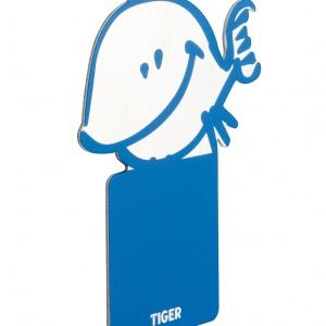 Kolorowe wieszaki łazienkowe z kolekcji KIDDY można wybrać w kształcie ptaszka, rybki albo pieska. Wykonane z lakierowanej stali nierdzewnej. 29 zł/szt. Fot. Tiger