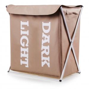 BIELIŹNIAK LIGHT & DARK nie zajmie dużo miejsca, a pomoże w utrzymaniu porządku i jednocześnie ciekawie ozdobi wnętrze; 56x32x60 cm 119 zł. Fot. Home&You