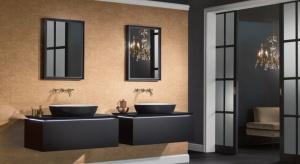 Zebraliśmy dzisiaj dla Was różnorodne elementy wyposażenia łazienek - od czarnych płytek ceramicznych, po... baterie umywalkowe. Wszystkie, bez wyjątku, w czarnym kolorze.