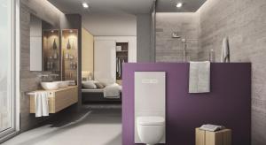 To, co odróżnia terminal WC TECElux od standardowych stelaży podtynkowych, to fakt, że nie jest ukryty w ścianie. Widoczna dla oka pozostaje szklana obudowa, dostępna w kolorze białym i czarnym, która szczelnie zamyka otwór rewizyjny, maskuje sp�
