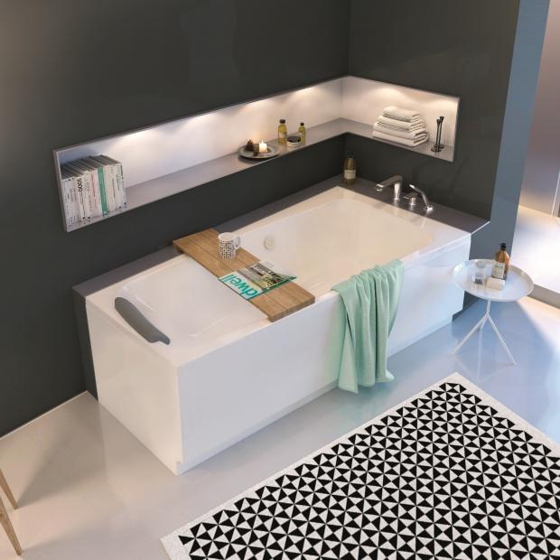 Strefa relaksu w łazience - wybieramy wannę