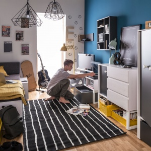 Nest – przestrzeń dla wyobraźni. Nowa kolekcja mebli do pokoju dziecka i nastolatka. Fot. VOX