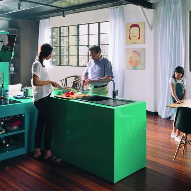 Rodzinne gotowanie - zobacz nową linię wyposażnia kuchni