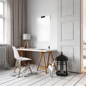 Zgodnie z założeniami stylu skandynawskiego podłoga ma rozjaśniać i optycznie powiększać wnętrze. Fot. Parkiety24