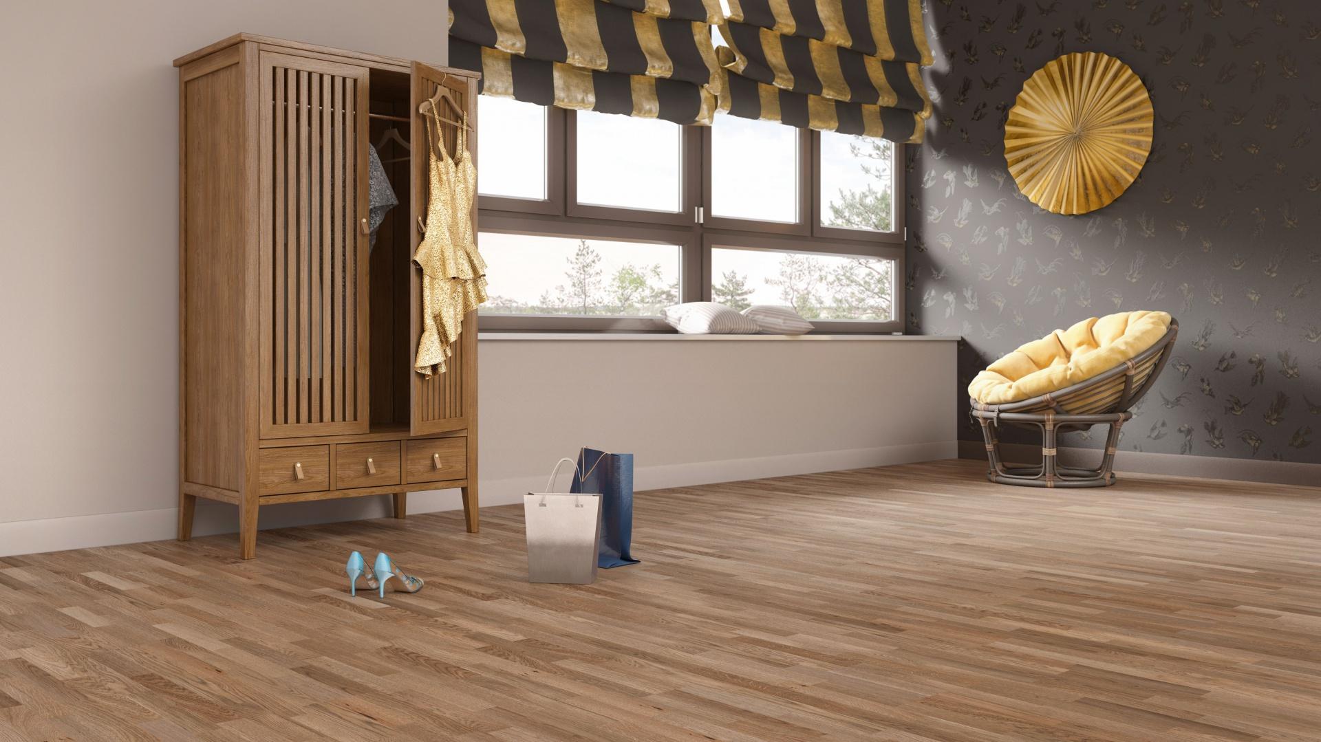 Jeans Collection to siedem par trójwarstwowych podłóg dębowych. Fot. Baltic Wood