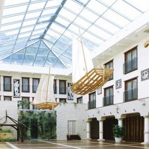 Wnętrza Hotelu Król Kazimierz w Kazimierzu Dolnym. Fot. Decorum Architekci.