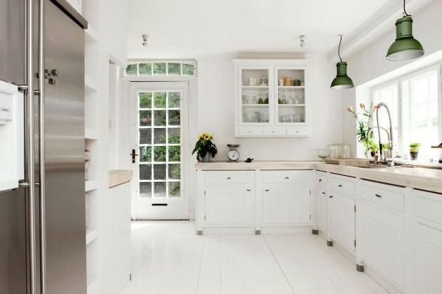 Modna kuchnia: blaty z rysunkiem drewna