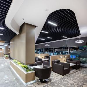 Salon Fantazja Airport Okęcie. Fot. Decorum Architekci
