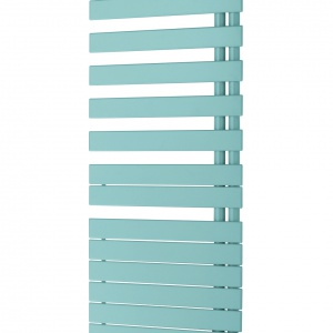 Grzejnik RODA TWIST SPA AIR dzięki korpusowi obracanemu o 180° umożliwia łatwe wieszanie ręczników. Dzięki wbudowanemu, wydajnemu wentylatorowi szybko ogrzewa łazienkę. 3.065 zł. Fot. Zehnder