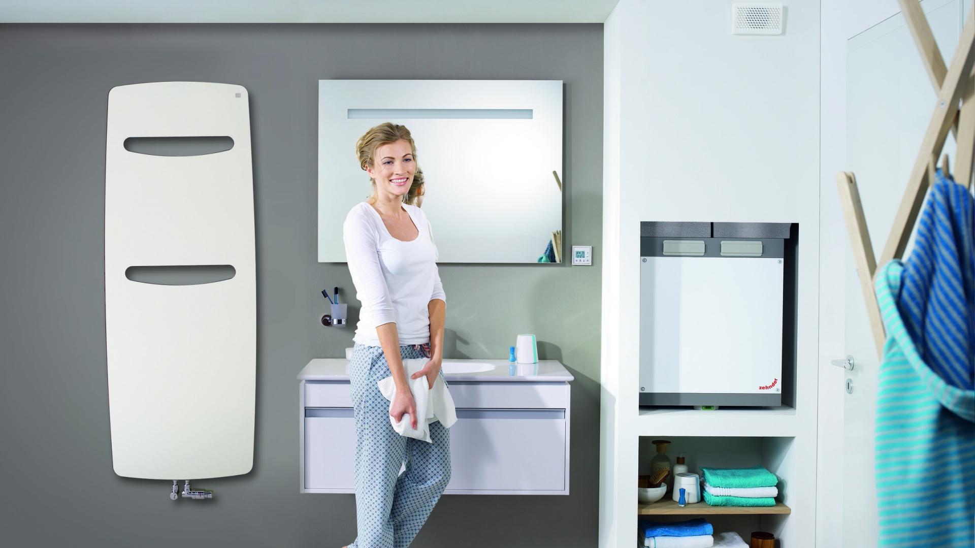Grzejnik VITALO SPA inspirowany jest naturą. Jego organiczny kształt zapewni estetyczny wygląd łazienki, a innowacyjna technika energetyczna idealnie ogrzeje wnętrze. Od 3.458 zł. Fot. Zehnder