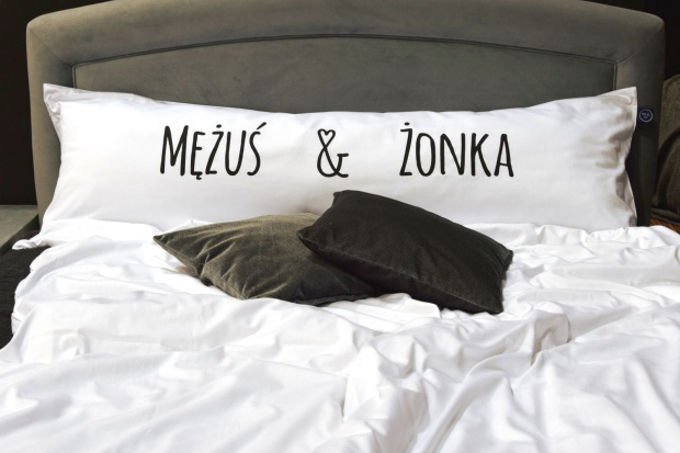 Dodatki do sypialni- wyjątkowa poduszka dla całej rodziny