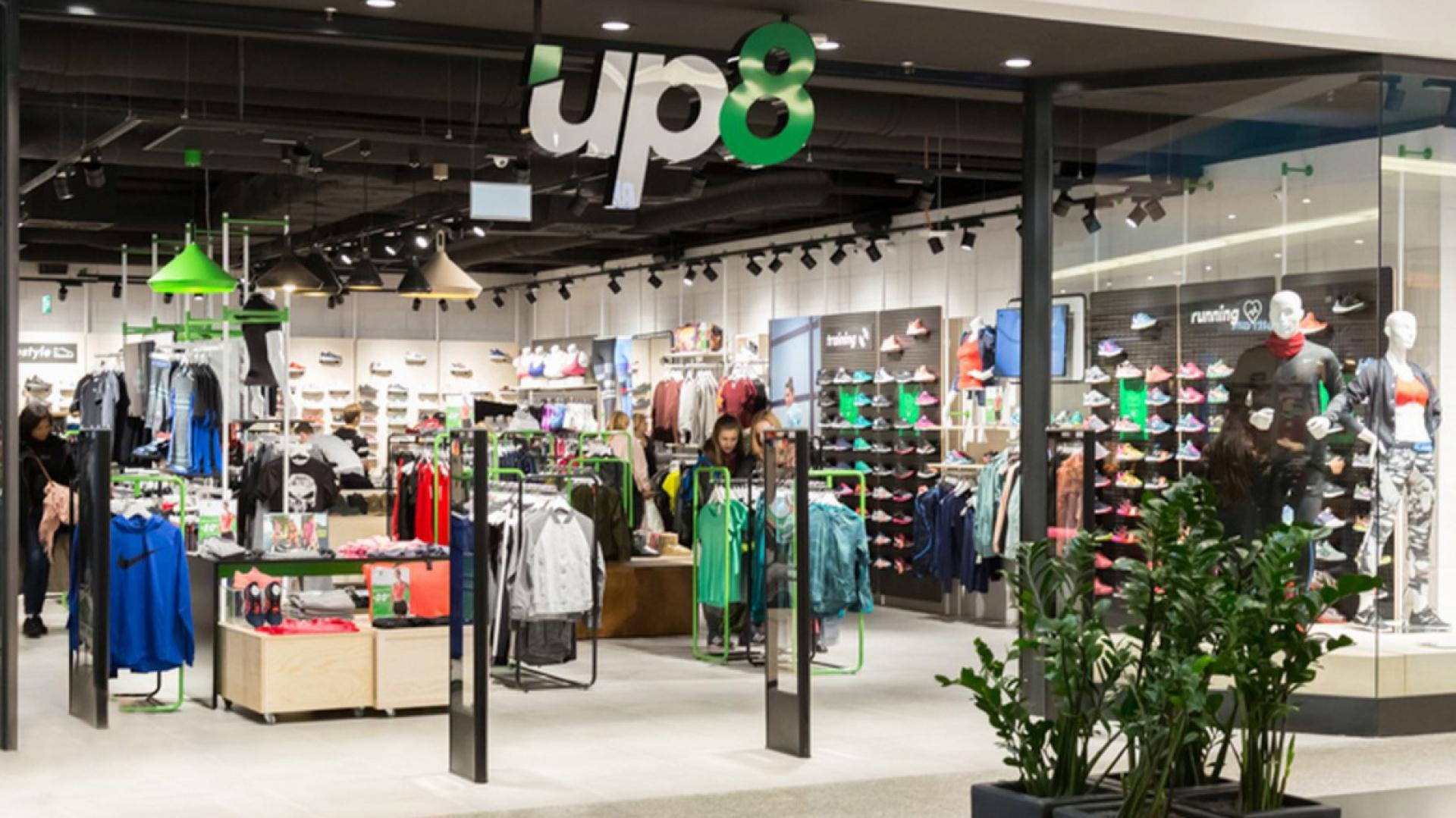 Salon marki up8 został otwarty w Galerii Krakowskiej w Krakowie. Fot. materiały prasowe