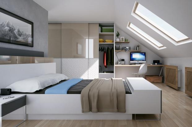 Sypialnia na poddaszu – tak można ją umeblować