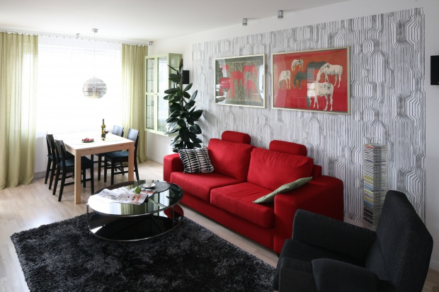 Kolor w salonie. Pomysły z polskich domów