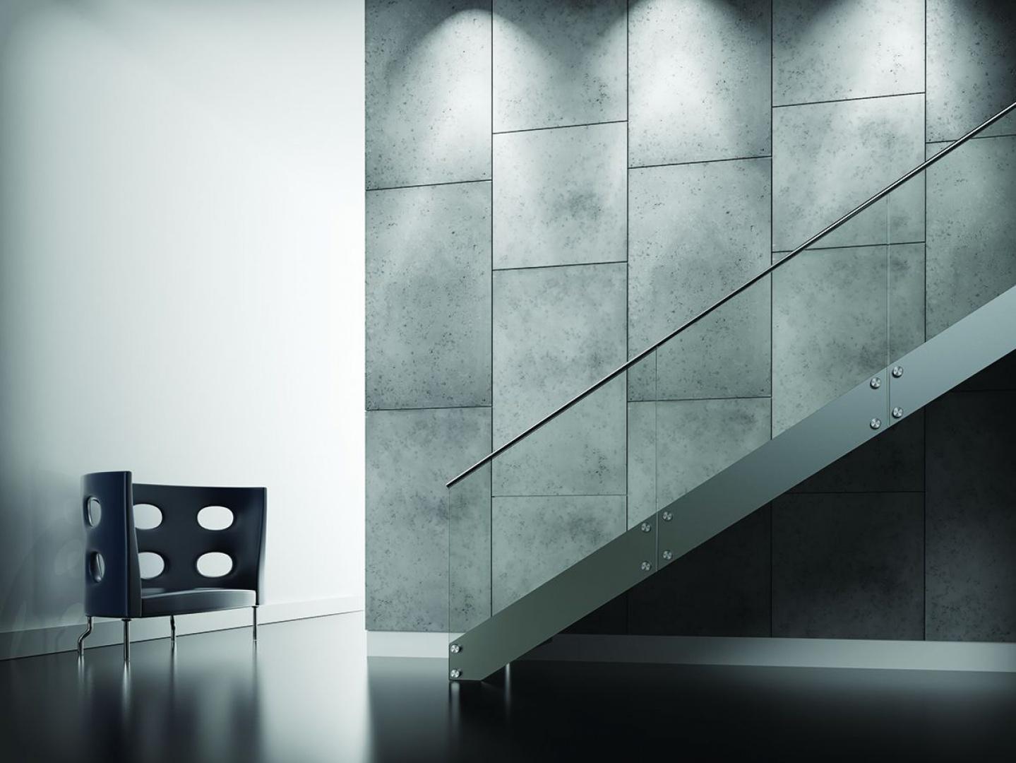 Panele Dekoracyjne O Strukturze Betonu Concrete Plain