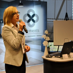 Uczestnicy spotkania mogli też z bliska poznać ofertę produktów Vigour White, które dostępne są tylko w salonach tej marki, a o której opowiedziała Małgorzata Suska, kierownik salonu przy ul Cieślewskich 44 w Warszawie.