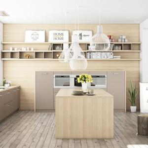 Meble kuchenne dostępne w ofercie marki WFM Wolsztyńskie Kuchnie.Fot. WFM