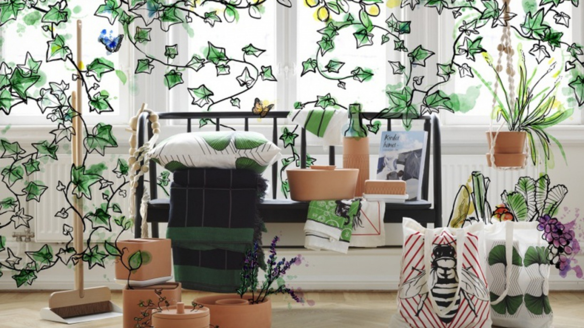 Kolekcja ANVÄNDBAR projektu Studia Ganszyniec. Fot. IKEA.