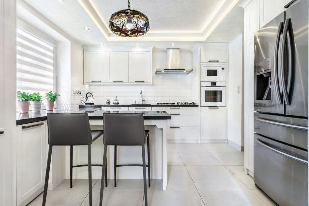 Luksusowa kuchnia - meble w stylu Hamptons