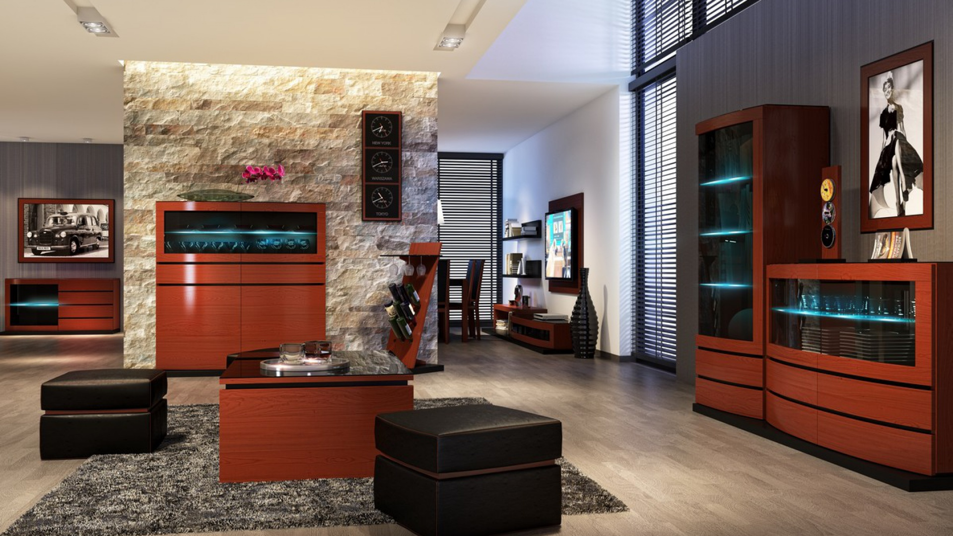 Salon, meble ArtModulo. Fot. Mebin
