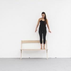 Leaning Bench. Fot. archiwum Izabeli Bołoz