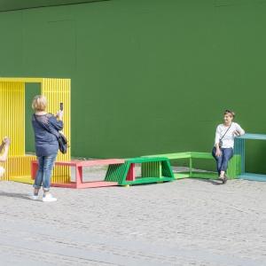 Instalacja Intersections, Kopenhaga. Fot. archiwum Izabeli Bołoz