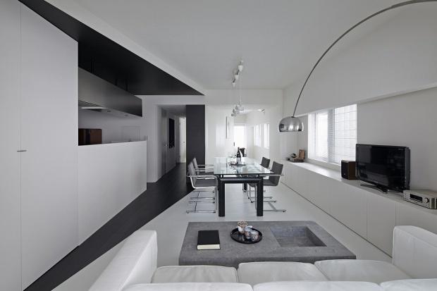 Minimalizm w stylu japońskim. Zobacz wnętrze z Tokio