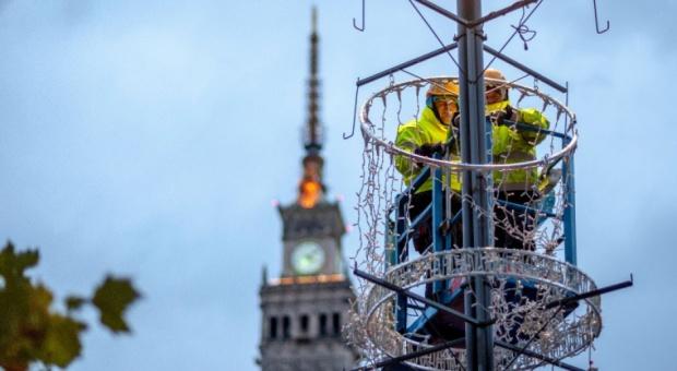 Warszawa: będzie więcej dekoracji na święta