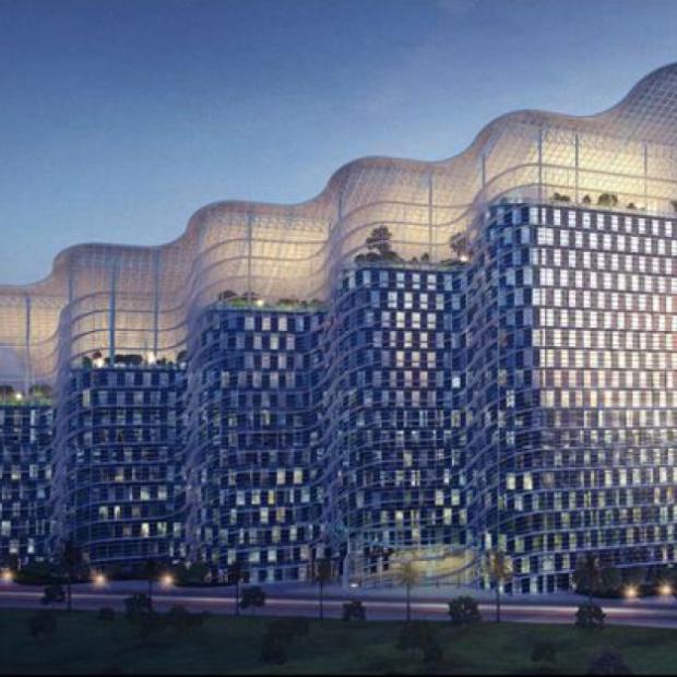W Dubaju powstanie futurystyczny budynek w kształcie żagla