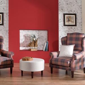 Wygodne meble wypoczynkowe to podstawa aranżacji każdego salonu. Fot. Dekoria.pl