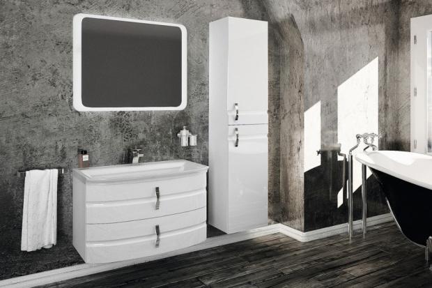 Modne fronty mebli łazienkowych