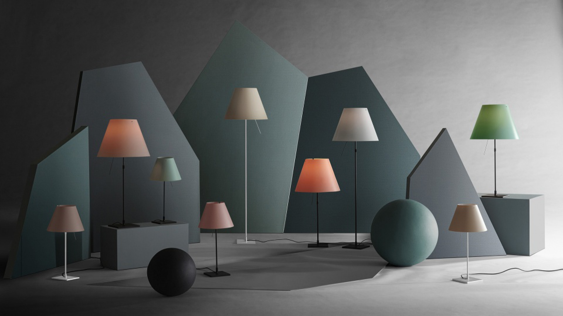 Lampa Costanza Luceplan fot. materiały prasowe