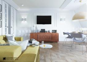 Mieszkanie w stylu Art Deco. Ludwinowska Studio Architektury