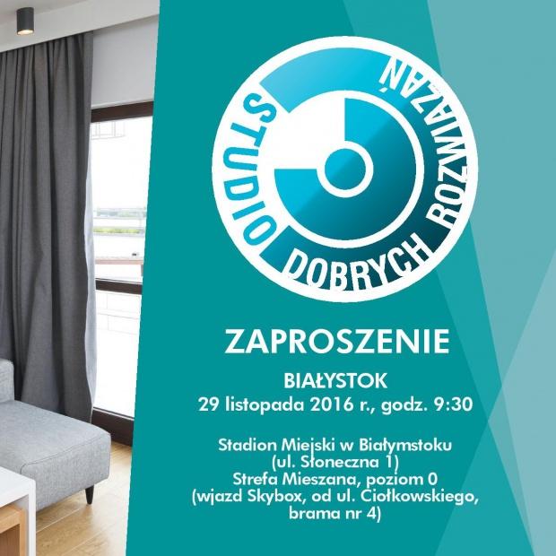 Studio Dobrych Rozwiązań w Białymstoku!  Zapraszamy na szkolenie!