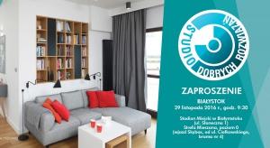 Studio Dobrych Rozwiązań po raz drugi zawita do Białegostoku. Zapraszamy 29 listopada do stolicy Podlasia na spotkanie z dobrym wzornictwem, oryginalnymi pomysłami oraz cenionymi architektami. Zajmujecie się fachowo projektowaniem wnętrz? Musicie
