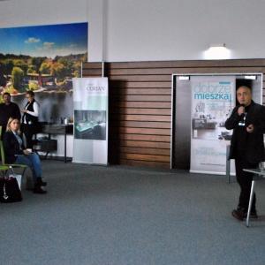 Konrad Zabiełło opowiadał o możliwościach jakie daje wykorzystanie w projektowaniu oprogramowania Archicad.