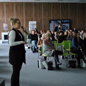 Emilia Cichocka pokazała możliwości materiału Corian od marki DuPont.