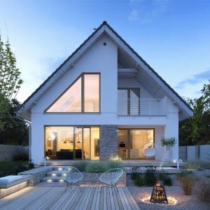 Projekt domu 4A. Źródło: Extradom.