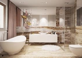 Wnętrze Charm&Chic. Ludwinowska Studio Architektury